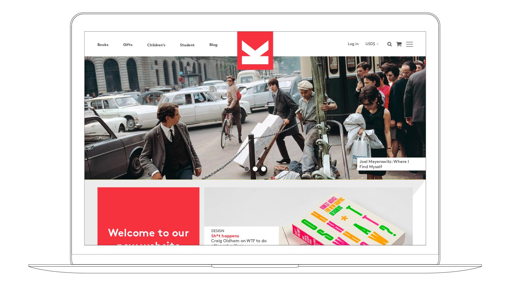 LKP website Laptop visual home page