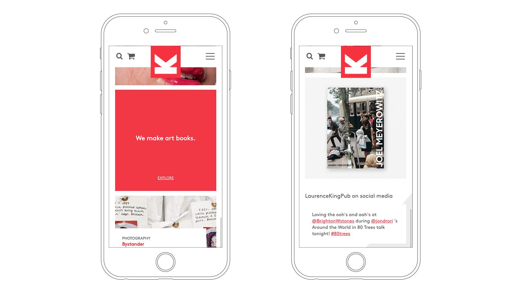 LKP website Mobile visual books section